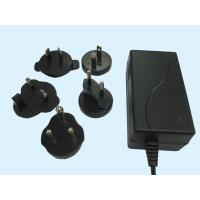 China Interchangeable AC Plugs Lead Acid Battery Charger 100V - 240V AC Voltage Range wholesale