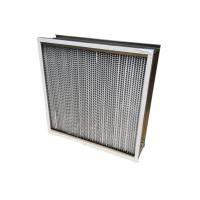 China 350℃ High Temperature HEPA Air Filter For HVAC System Dust Holding 1150g wholesale
