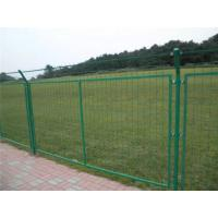 China Green Powder Coated Wire Mesh Fencing , Galvanized Wire Fence For Residential Area wholesale