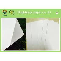 China High Stiffness A2 Cardboard Sheets Art Board For Air Ticket Multiplication wholesale