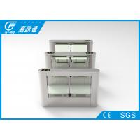 China Indoor Office Turnstile Access Control 40 Persons / Min , Rfid Card Turnstile Barrier Gate wholesale
