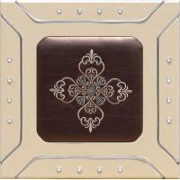 Buy cheap Professional Sculpted Mdf  leather Wall Panels , Decorative Interior Panels 400*400mm product