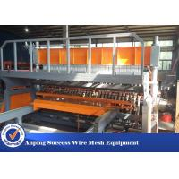 China Pneumatic Reinforcing Wire Mesh Making Machine Easy Operation Width 2500mm wholesale