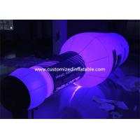 Giant 5mH PVC Airtight Promotion Inflatable Olmeca Drink Bottle With Led Light