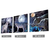 Quality PET Plastic Printing Service / 3D Lenticular Pictures 40x40cm Home Decoration for sale