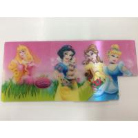 China Disney Changing Pictures PET 3d Hologram Stickers For Kids , Pantone Color wholesale