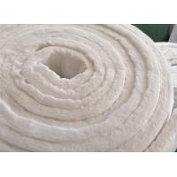 China Heat Resistant Refractory Ceramic Fiber Blanket For Boiler Insulation Erosion Resistance wholesale
