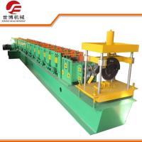 China 8.5KW Highway Guardrail Roll Forming Machine With Smart Self Lock Device wholesale