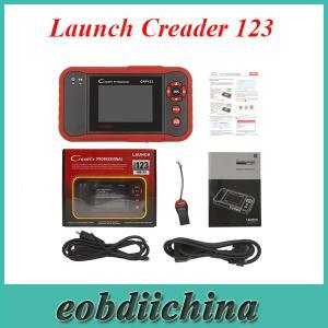 China Launch Creader 123 OBD EOBD update online multiple languages on sale