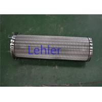 China Slot 75 Y Strainer Filter Elements , Micron Pneumatic Johnson Screen Filter wholesale
