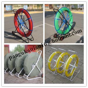 China Material Fiberglass duct rodder,Length 50m 100m 200m duct rodder wholesale