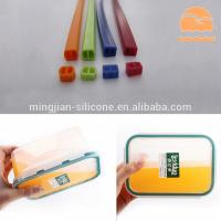 China Lunch Box Custom Silicone Gaskets , Molded Silicone Rubber Seals Water Resistance wholesale