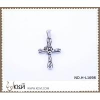 China Hot sell 316 Stainless Steel Cross  Pendant H-L1698 wholesale