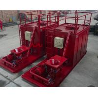 Well drilling mud mixing system unit