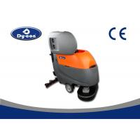 China 13 Inch Brush Hardwood Floor Cleaner Machine Easy Cleaning Orange / Gray wholesale