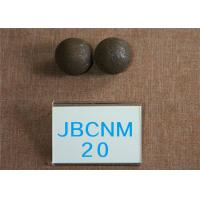 Quality D 20mm Grinding Media Balls / Carbon Steel Ball for Copper Mining High Hardness for sale