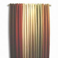 China Window Curtain with Fashionable Design and Color, Made of Polyester wholesale