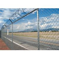 China Widely Used Galvanized Chain Link Fence Diamond Strong Anti Rust / Corrosion wholesale