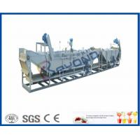 China Sanitizing Plastic Bottles Milk Pasteurization Equipment With Stainless Steel SUS304 Material wholesale