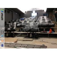 China Servo Electronic And 5.1 Audio 6D Cinema Equipment With Dynamic Chairs wholesale