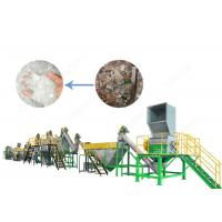 Buy cheap 300 - 1500 Kg / H Plastic Washing Recycling Machine Stainless Steel High Speed from wholesalers