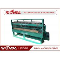 China Fried Green Automatic Brick Cutting Machine , Brick And Block Cutter Adjustable Speed wholesale