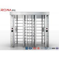 China High Speed Full Height Turnstile Mechanism Access Control Dual Passage AC 220V wholesale