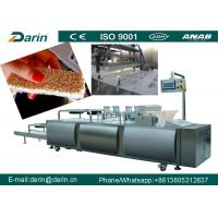China Chocolate Cereal Bar Making Machine stantless steel 304 Material wholesale