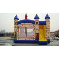 China Popular Toddler Bounce House , Water Jump House 5*5m Lead - Free Material wholesale