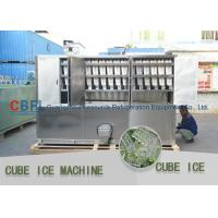 China 3 Ton Per Day Ice Cube Machine / Commercial Grade Ice Machine ISO SGS BV wholesale