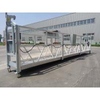 China High Rise Building Maintenance Window Cleaning Suspended Working Platform ZLP630 wholesale