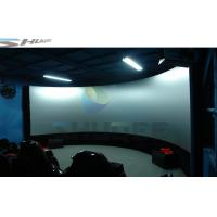 China Hydraulic Air 4D Cinema System Dynamic Effects With Electric Chair wholesale