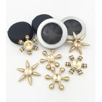 China Wholesale Cheap price copper brass material detachable hand fidget finger spinner QL1102 wholesale