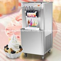 China 22L / H Low Noise Ice cream Making Machines Table Top With LED Display wholesale