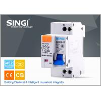 China Single phase Electric mini Residual Current Circuit Breaker for industrial , building wholesale