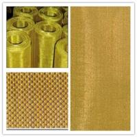 China Corrosion Resistance Brass Woven Wire Mesh For Metal Powder Filtration wholesale