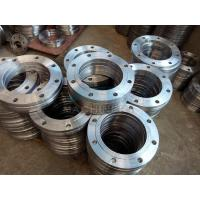 Buy cheap ANSI DIN Stainless Steel Forged Casting Slip-on Pipe Flange from wholesalers