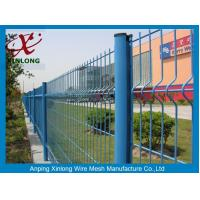 China High Anti Corrosion Wire Mesh Horse Fencing , Garden Wire Fencing Green Color wholesale