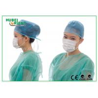 Buy cheap Lightweight Disposable Face Mask 3ply With Ear Loop , Poly Cellulose Materials product