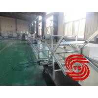 China HDPE Double Wall Corrugated Pipe Machine , Single / Double Extruder on sale