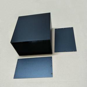 China Anodized Extruded Aluminum Enclosure 120x200x220mm wholesale