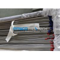 China Stainless Steel Hydraulic Tubing ASTM A269 / A213 9.53mm x 22 SWG wholesale