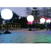 China Industrial Inflatable Helium Lighting Balloon With Halogen Light 1 - 1.5m wholesale