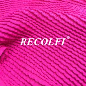 China Uv Fabric Protector Stretch Mesh 80CM Ribbed Swimwear Fabric wholesale