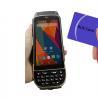 China LF125Khz 4G LTE Android Handheld RFID Scanner D/2D Laser Reader Writer 1.3Ghz wholesale