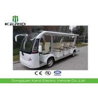 China 14 Seater Electric Sightseeing Bus Equipped With Effective Shock Absorb Suspension on sale