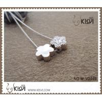 Quality Fashion Jewelry 925 Sterling Silver Necklace with Zircon W-VD169 for sale