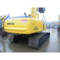 China Komatsu PC200 Second Hand Excavators 5400 Hours 2002 Year With 40L Fuel Tank wholesale