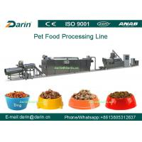 China Dog Fish Cat Pet Food Extruder equipment / machine , Dry pet food machinery wholesale