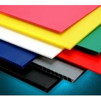 China Eco - Friendly Anti - Corrosion Pp Hollow Sheet Corrugated Plastic Board 2mm - 10mm Thickness wholesale